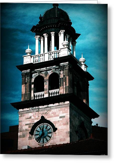 Greeting Card featuring the photograph Pioneers Museum by Michelle Frizzell-Thompson