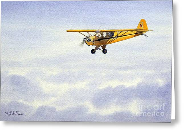 Piper J-3 Cub Greeting Card