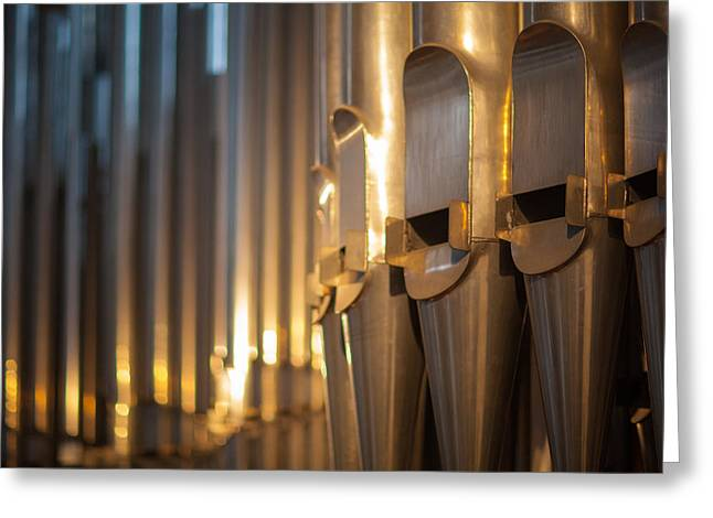 Pipes Greeting Card by Ralf Kaiser