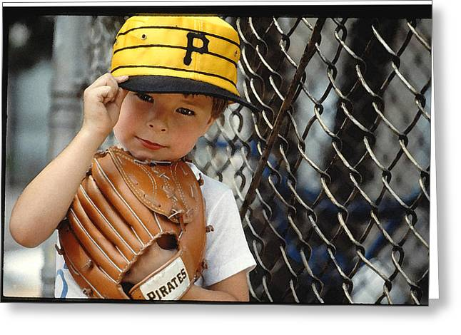 Pirate Fan Greeting Card by Tod Ramey