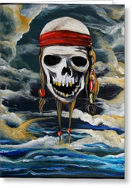 Pirate Past Greeting Card