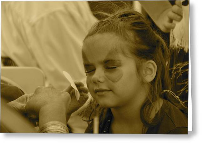 Pirate Princess Sepia Greeting Card by Floyd Snyder