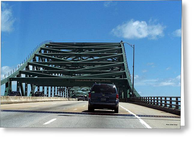 Piscataqua River Bridge Greeting Card