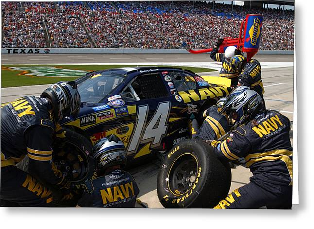 Pit Stop Greeting Card