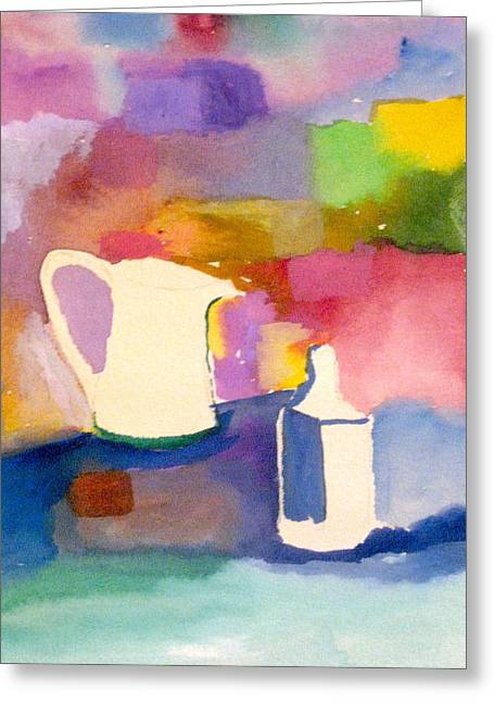 Pitcher And Jug Greeting Card by James Gallagher