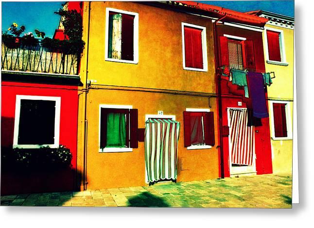Pittoresco Villaggio Greeting Card
