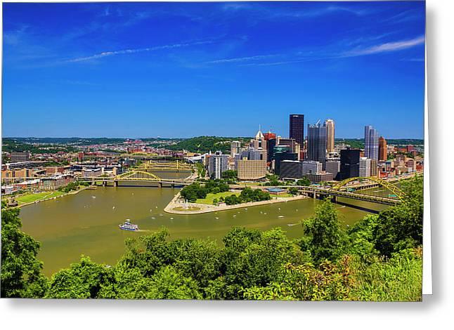 Pittsburgh, Pennsylvania Greeting Card