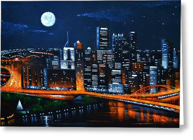 Pittsburgh  Sold Greeting Card