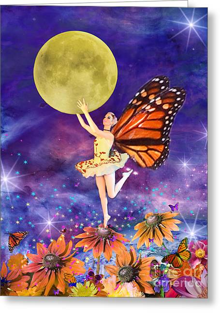 Pixie Ballerina Greeting Card