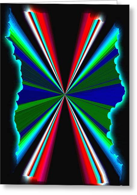 Pizzazz 44 Greeting Card by Will Borden