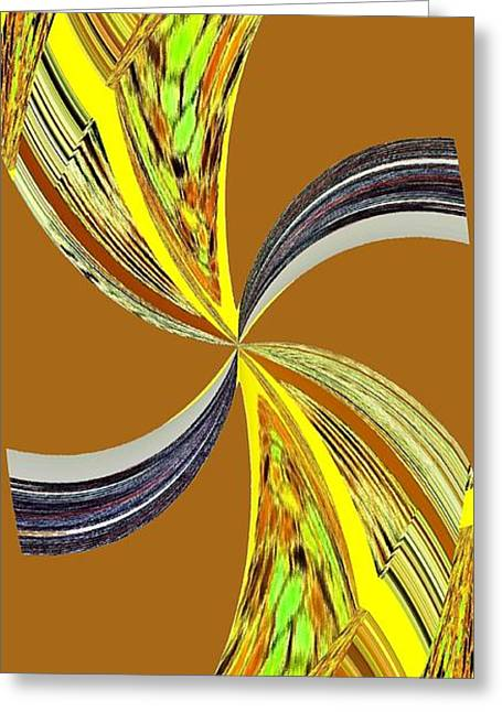 Pizzazz 46 Greeting Card by Will Borden