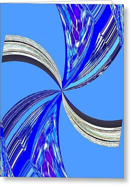 Pizzazz 47 Greeting Card by Will Borden