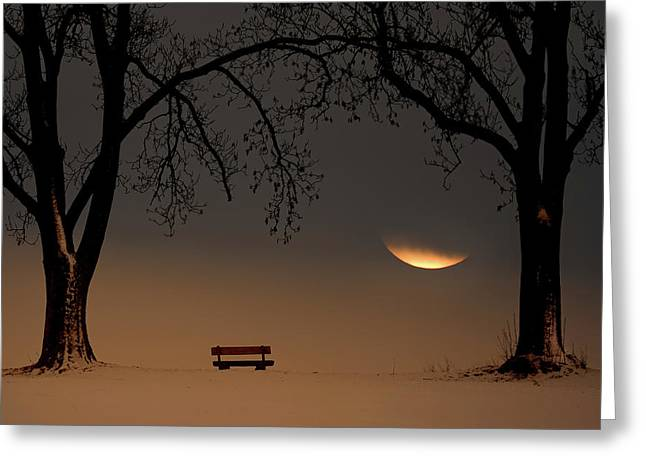 Place Of Silence Greeting Card