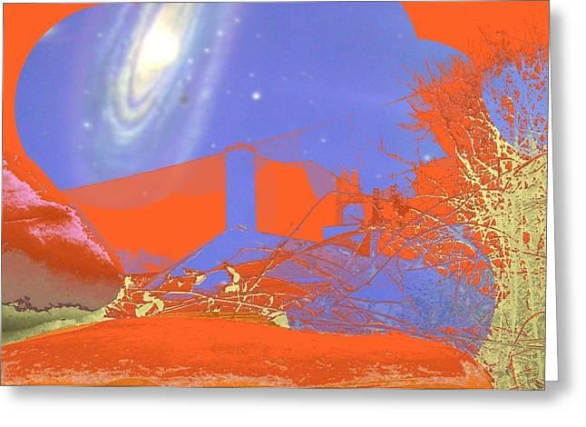 Planet Chuck Greeting Card
