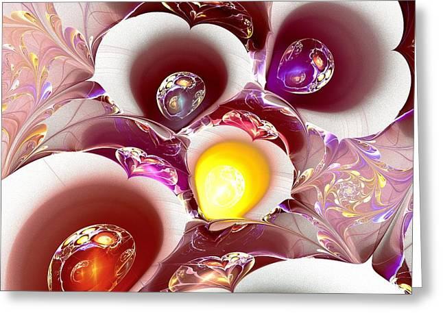 Planet Nursery Greeting Card by Anastasiya Malakhova
