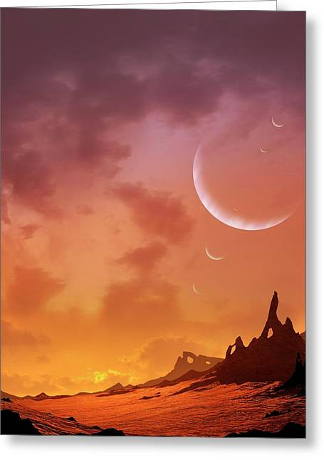 Planet Of Hd113538 Greeting Card