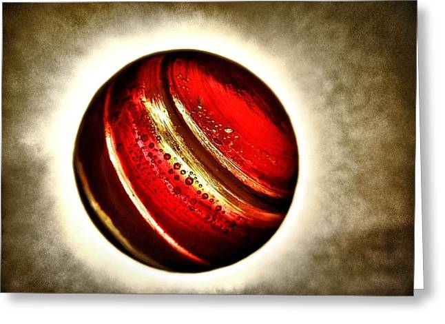 Planet Passion - My Little Planets Series  Greeting Card by Marianna Mills