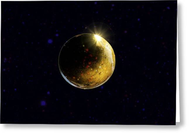 Planet Renatus Greeting Card