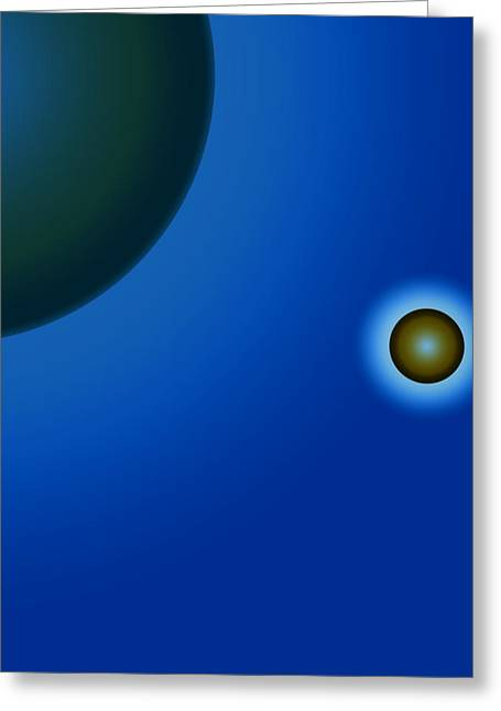 Planets Of Mercy Greeting Card by Sir Josef - Social Critic - ART