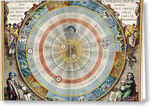 Planisphere Greeting Card