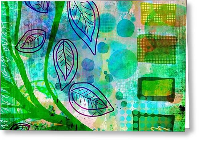 plant The Seeds #ipadart #art Greeting Card
