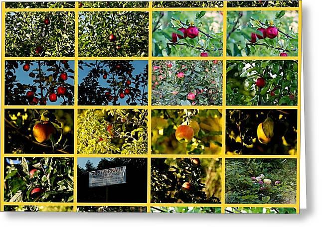Plantage Greeting Card by Klaas Hartz