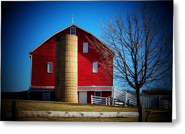 Plantation Barn Greeting Card