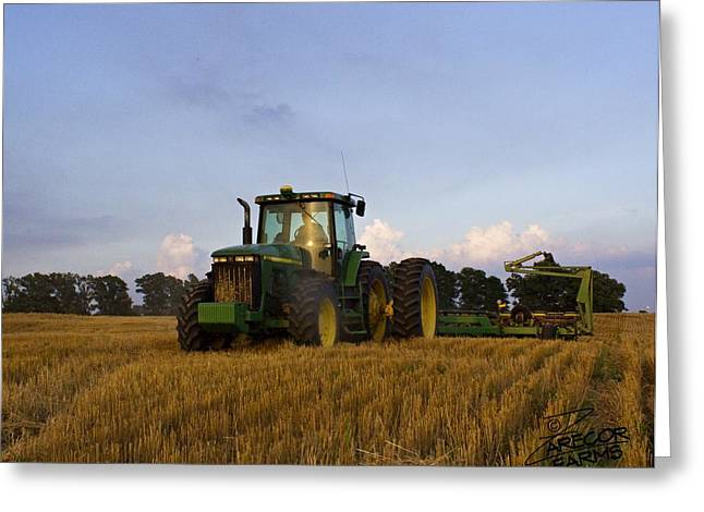 Planting Deere Greeting Card