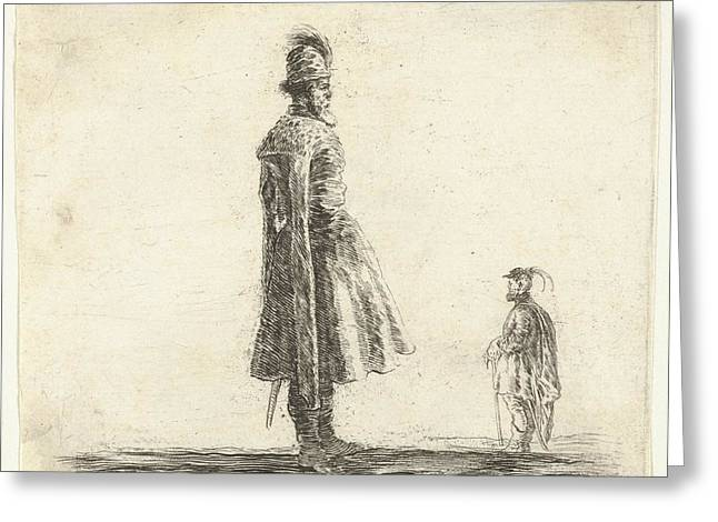 Plate 20 An Old Polish Nobleman Wearing Greeting Card