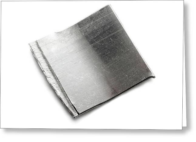 Platinum Greeting Card