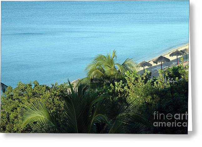 Playa Ancon Trinidad Greeting Card