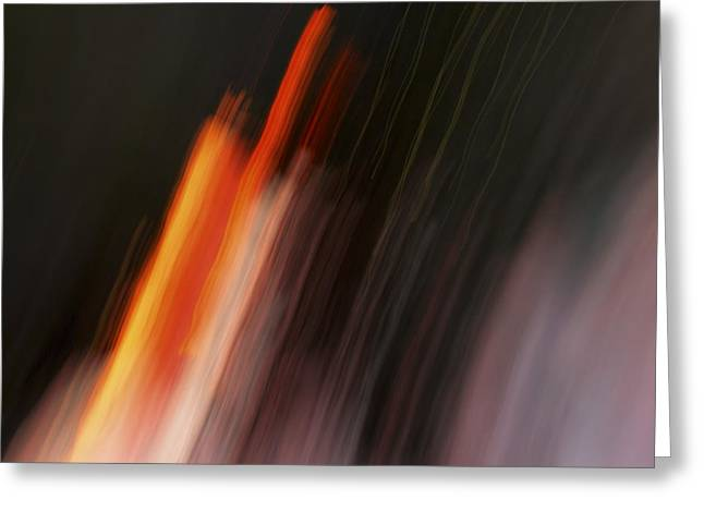 Playing With Fire Greeting Card by Steve Belovarich