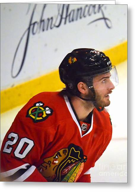 Playoff Saad Greeting Card