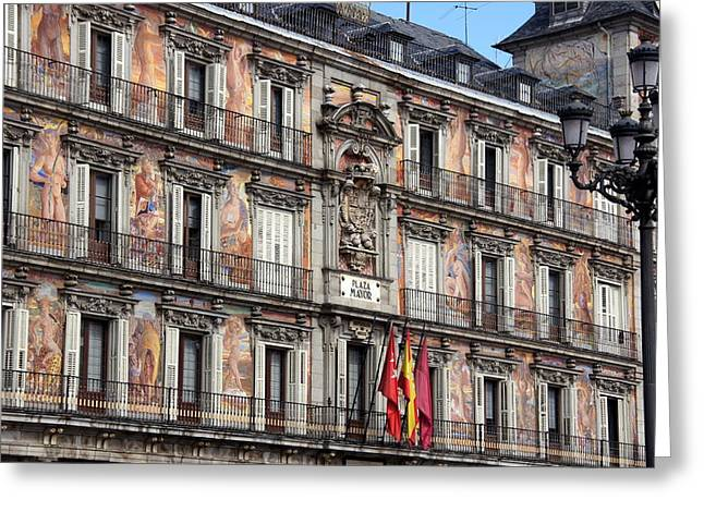 Plaza Mayor Greeting Card