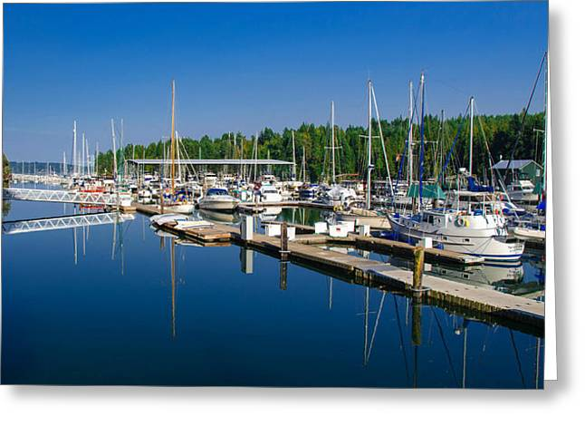Pleasant Harbor Greeting Card