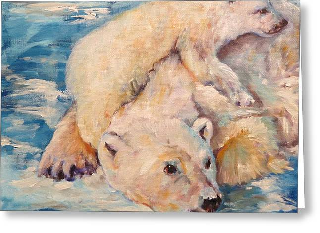 You Need Another Nap, Polar Bears Greeting Card