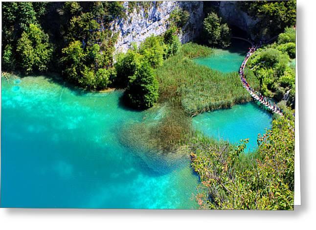 Plitvice Lakes National Park Greeting Card