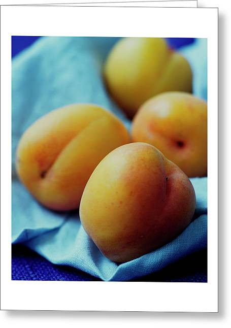 Plumcots Greeting Card