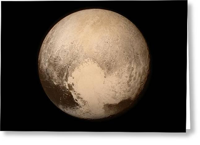 Pluto Greeting Card by Nasa/apl/swri