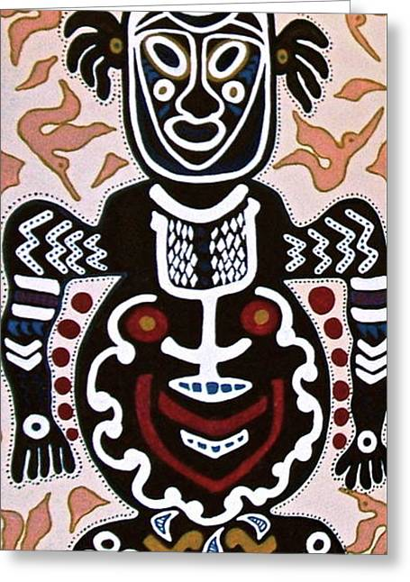 Papua New Guinea Manggi Greeting Card