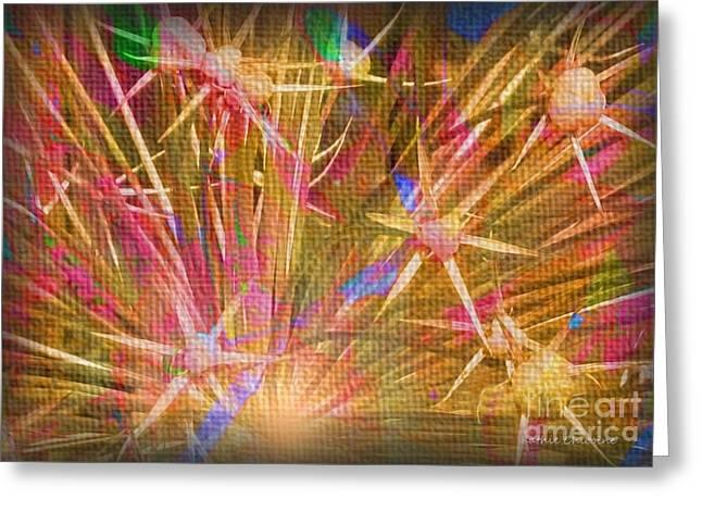 Pod Explosion Greeting Card