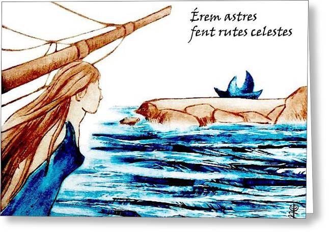 Poesia Amorosa En Catala - Diada De Sant Jordi Greeting Card