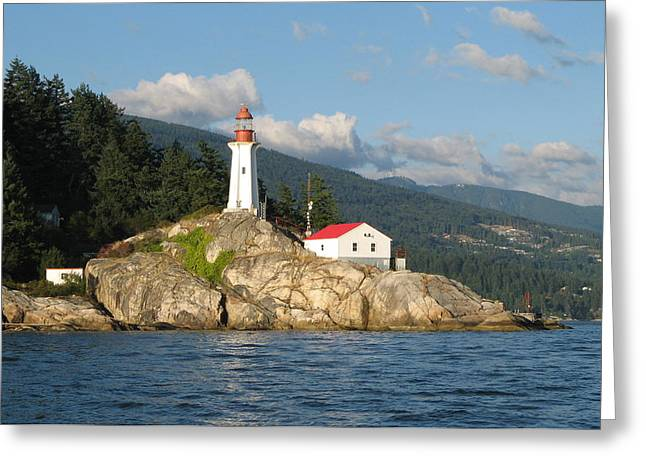 Point Atkinson Lighthouse Greeting Card by Brian Chase