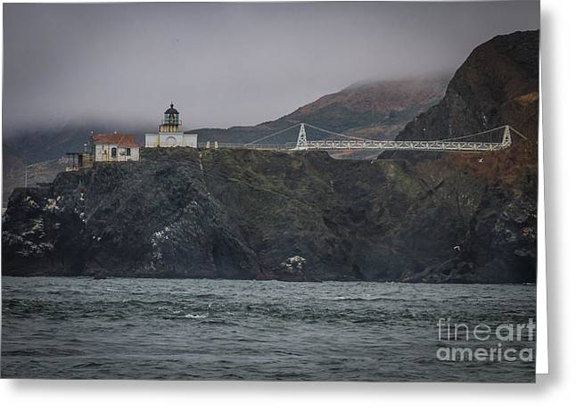 Point Bonita Light House Greeting Card