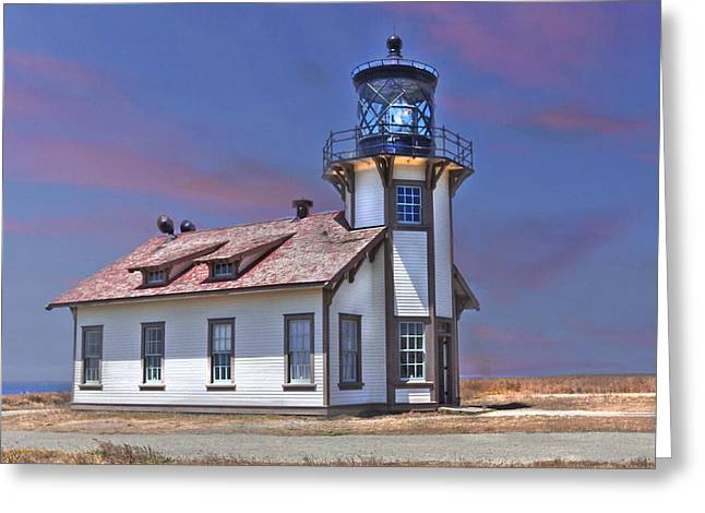 Point Cabrillo  Greeting Card by Kandy Hurley