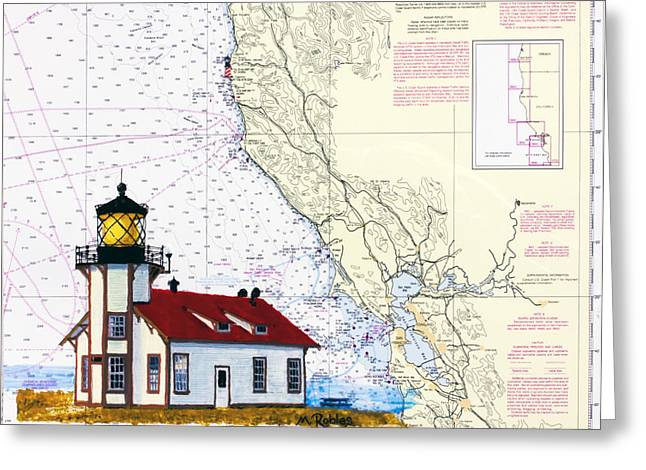 Point Cabrillo Light Station Greeting Card by Mike Robles