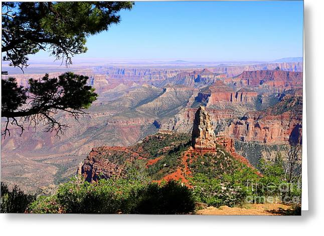 Point Imperial View Greeting Card by Christiane Schulze Art And Photography