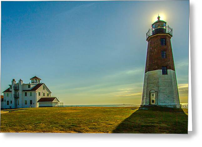 Point Judith Light Greeting Card