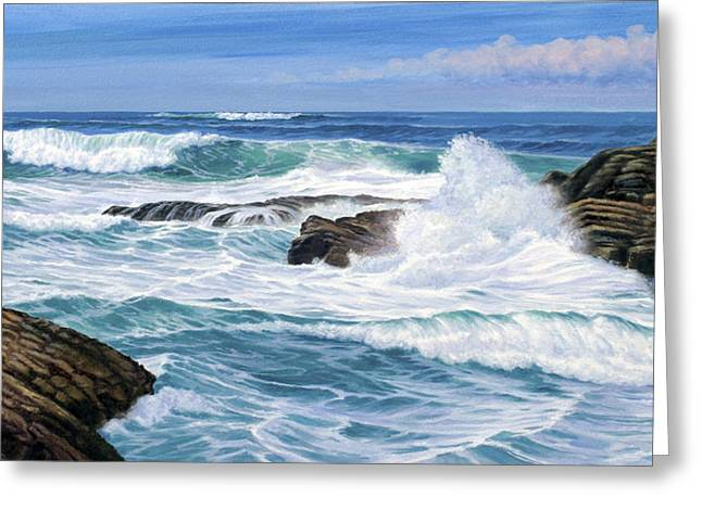 Point Lobos Greeting Card by Paul Krapf