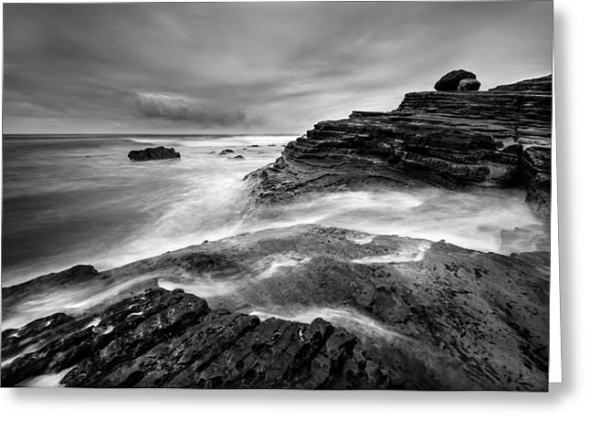 Point Loma Tide Pools Greeting Card by Alexander Kunz